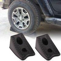 NEW 1 Pair Car Auto Anti Slip Block Rubber Car Tyre Slip Stopper Control Wheel Alignment