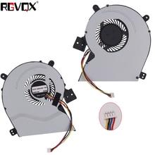 цена на New Laptop Cooling Fan For ASUS X451CA X551CA X451 X551 X551MA X451C X511C P/N KSB0705HB CPU Cooler Radiator