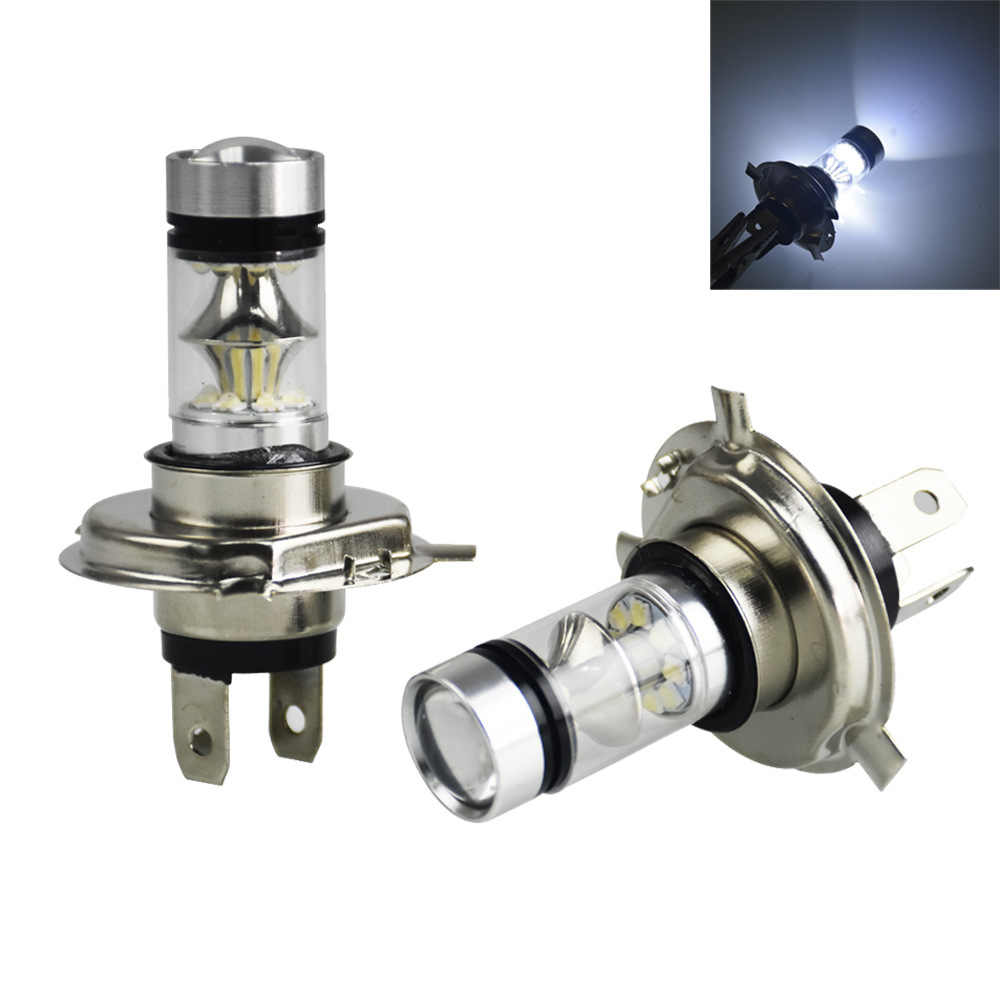 2Pcs H4 LED H7 H11 H8 9006 HB4 H1 H3 HB3 COB S2 Auto Car Headlight High Low Beam Bulb Lamp 8000K 12V