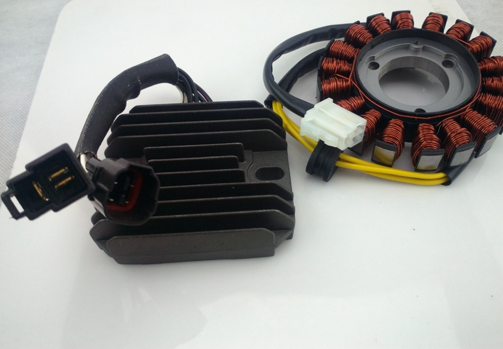 Статор и Регулятор выпрямителя Для SUZUKI GSXR600 GSXR 600 GSX-R600 2006 2007 2008 2009 мопед Магнето