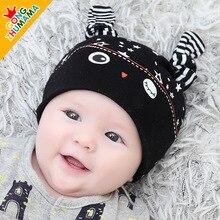 Baby hat and cap children infant font b sleep b font cotton children cap