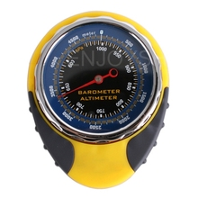 Cheapest prices 2017 New Universal BKT318 Outdoor Travel Climbing Survival 4in1 Multifunctional Altimeter Barometer Compass Thermometer Gauge
