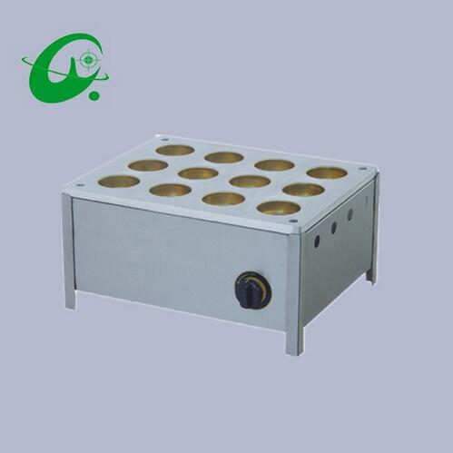 12-Hole GAS commercial Layer cake machine Red Bean Cake Grill waffle maker machine free shipping gas type 16 hole layer cake machine pattern in bottom waffle machine