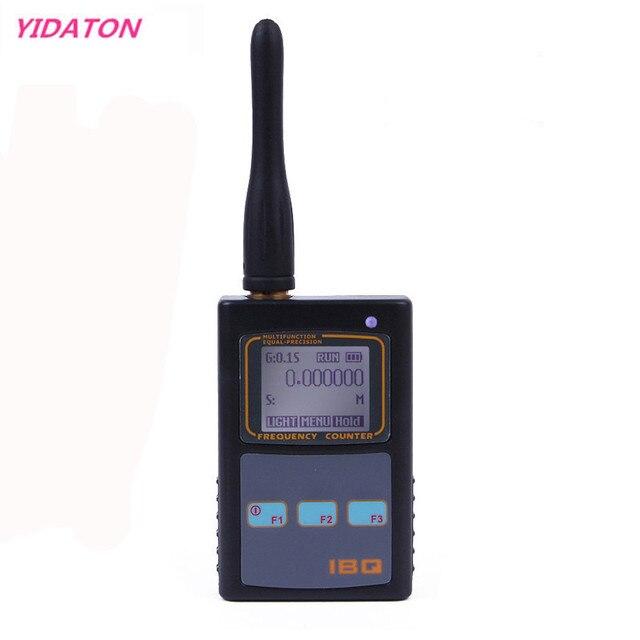 IBQ102 Handheld Digital Frequenzzähler Meter Breite Palette 10Hz 2,6 GHz für Baofeng Yaesu Kenwood Radio Tragbare Frequenz Meter