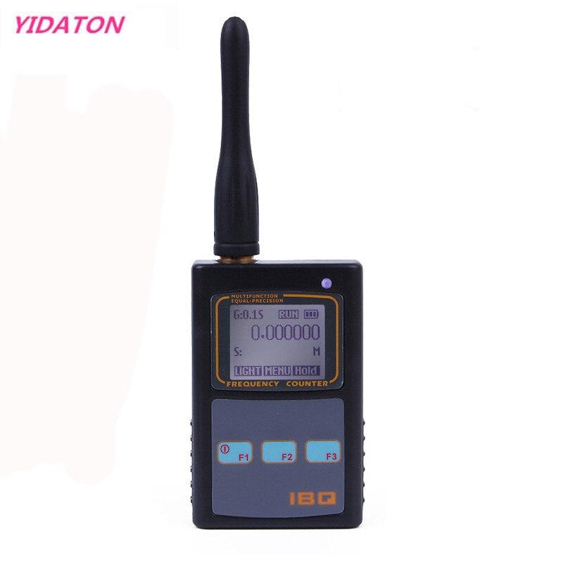 IBQ102 de frecuencia Digital de contador de Amplia gama 10Hz-2,6 GHz para $TERM impacto Baofeng Yaesu Kenwood Radio portátil medidor de frecuencia