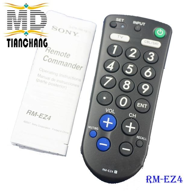 used original remote rm ez4 bc2 tv remote controls big button rh aliexpress com Sony RM U221 Remote Manual Sony Rm- Amu211