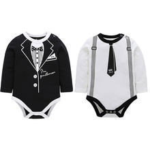 Infant Baby Romper Triangle Jumpsuit Climb Clothes Long Sleeve Kids Children's Summer Clothing 0-24 Months Mobile Phone Cases(China)