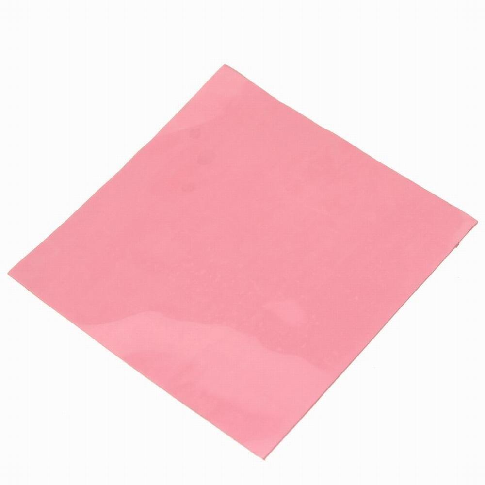1 Stück Gdstime 100mm X 1mm Thermische Leitfähigen Silikon Pad Laptop Gpu Cpu Kühlkörper Kühl Rosa 100 * 100*1mm 10*10 Cm Einfach Und Leicht Zu Handhaben