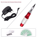 KX-101 Professional Tattoo Kit Permanent Makeup Eyebrow Lips Machine With Needles & Power Supply