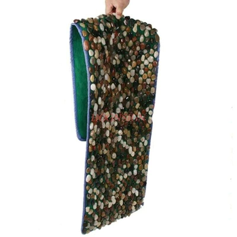 Foot Massage Pad Plantar Care Carpet Road Household Therapy Tool Natural Rain Stone Cobblestone Finger Pressure Plate Hot Sale