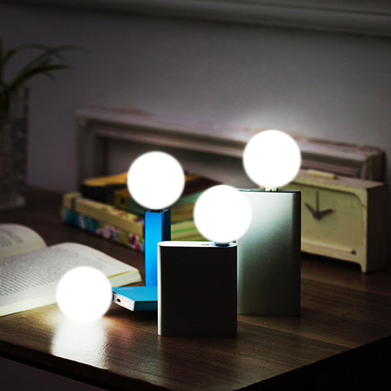 New Portable Mini USB LED Small Night Light Bulb Computer Lamp For Notebook PC Laptop Reading Book Lamp