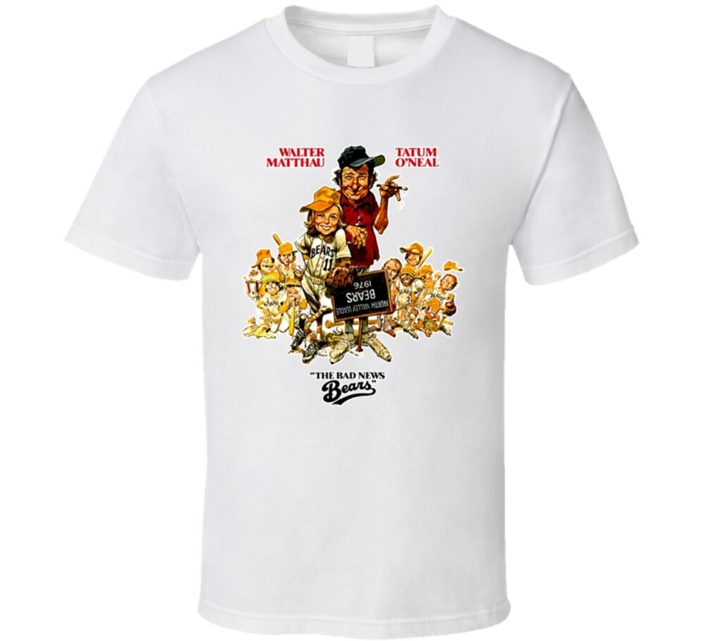 Bad News Bears Classic Movie T Shirt