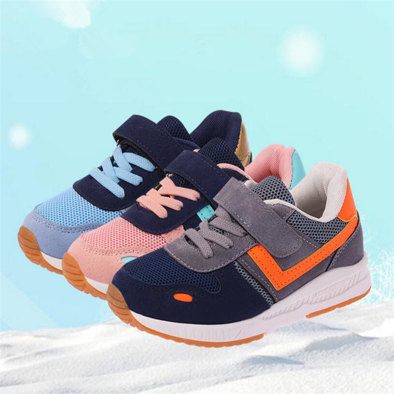 Girls shoes Baby Fashion Breathable kids Trainers Sneakers Boys Princess children Sports Casual Shoes Girl School shoes