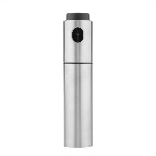 17 Hot Sale Silver Stainless Steel Spray Pump Fine Mist Oil Sprayer Vinegar Sprayer Cooking Tools Drop Shipping 5