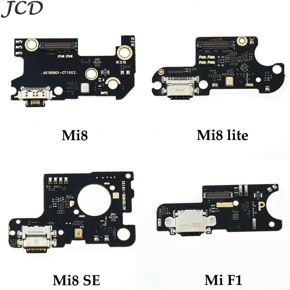 JCD For Xiaomi 8 / 8Lite / 8SE / Mi 8SE / F1 Dock Connector USB Charging Charger Port Flex Board For Xiaomi Mi F1 8 Se Mi8 Lite