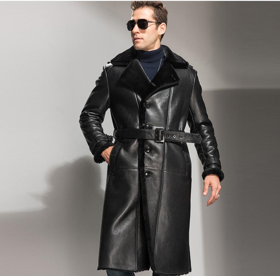 Popular Genuine Shearling Coat-Buy Cheap Genuine Shearling Coat ...