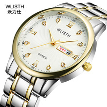 New European and American personality waterproof watch Fashion quartz watch simple business luminous trend 40 swatch watch skin series fashion trend quartz male and female table svun105