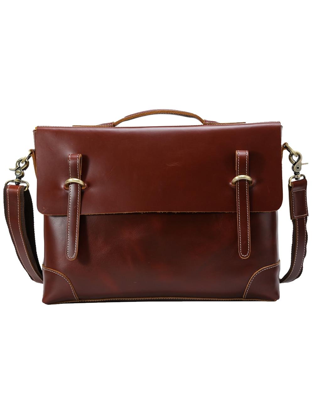 Для мужчин schwear Для мужчин из натуральной кожи Multi карман сумка через плечо Сумочка Портфели 38 см