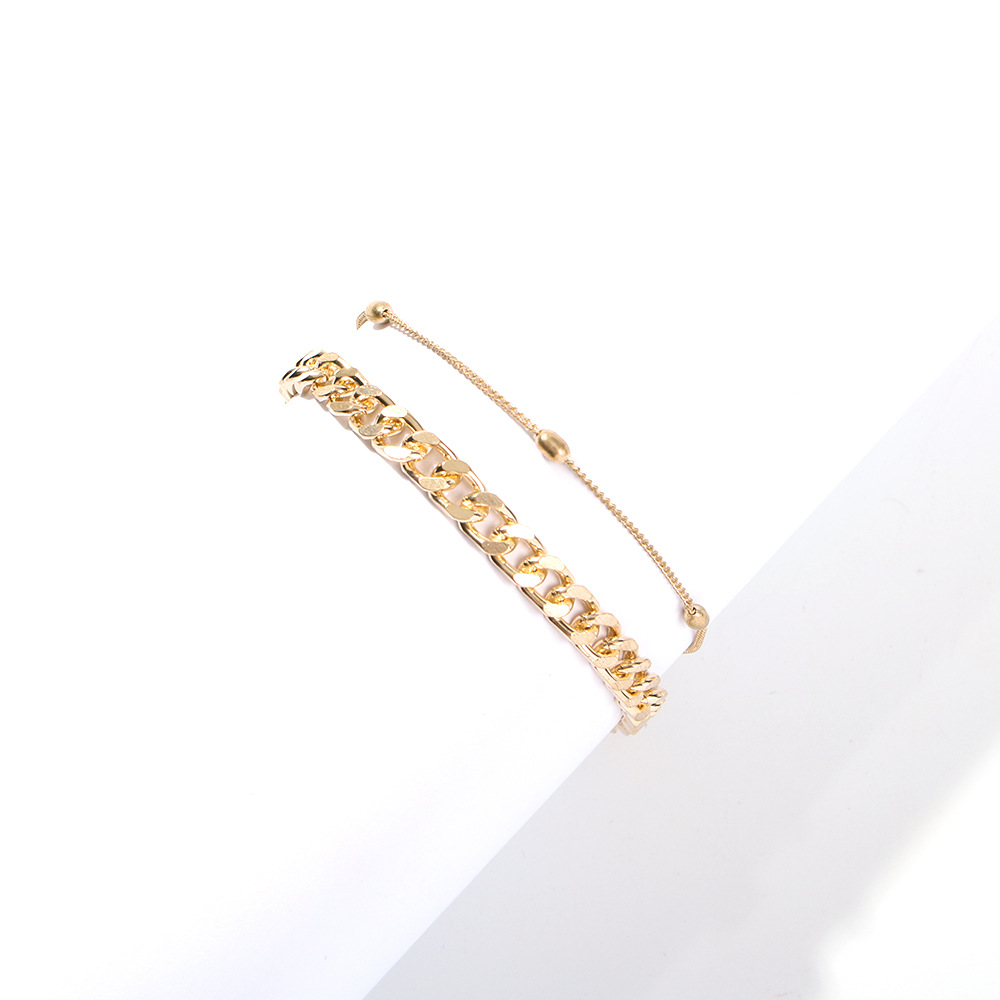 Fashion Jewelry Bracelet Charm Bracelets For Women 2pcs Boho Pulseras Mujer Pulseira Bracelets Femme Bransoletki Damskie Pulsera in Charm Bracelets from Jewelry Accessories