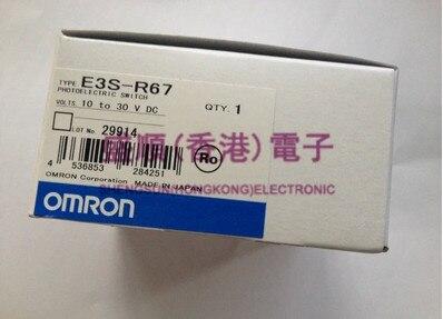 OMRON nouveau commutateur photoélectrique d'origine E3S-R67