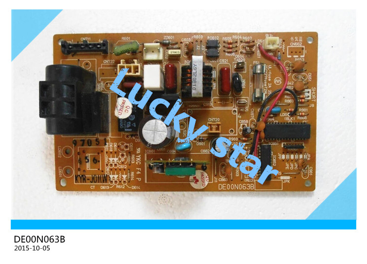 95% new for Air conditioning computer board DE00N063B SE76A645G02 PCB board good working