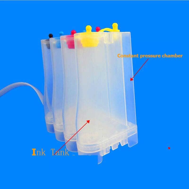 Sistema de suministro de tinta continua befon para impresora de inyección de tinta Universal Colors Ciss DIY Kits Accessaries Tank reemplazo para Hp Canon