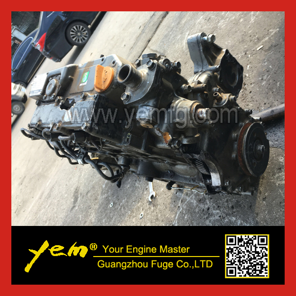 3 Cylinder, 4-Cycle, 3TNV76 Complete Engine Assembly 3TNV76-KHL Liquid Cooled Diesel Engine