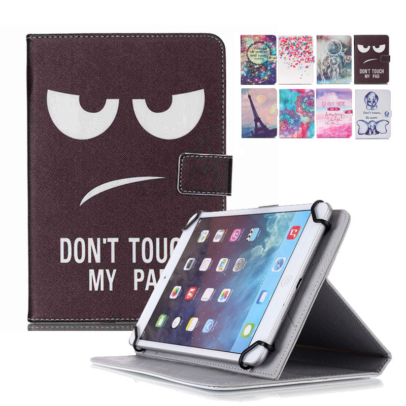 Universal Case for Irbis TG97/TQ97/TX97 10 Inch Tablet Magnetic Buckle Flip Stand PU Leather Cover Case+Center Film +pen KF553C butterfly pu leather stand case cover for tablet irbis tx12 10 1 inch universal 10 inch tablet cases center film pen kf492a