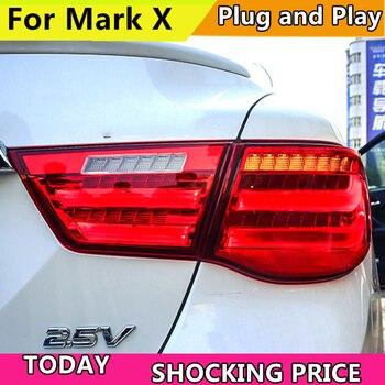 Car Styling for Toyota Reiz Mark X Tail Light Assembly 2010 2011 2012 LED Taillight Rear Lamp Driving+Brake+Park+Signal Light