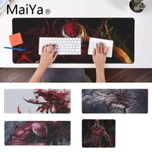 Maiya Marvel Comics Carnage игровой коврик для мыши для ноутбука коврик для мыши запирающийся край игровой коврик для мышки с Аниме Коврик для мыши скоростной коврик для мыши
