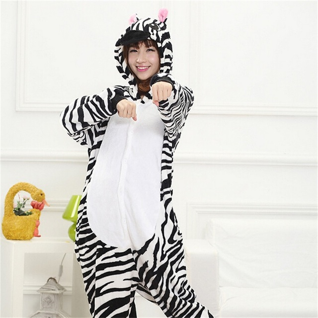 Kungfu Panda Kigurumi Onesie for Adult Animal Man Women Pijamas Flannel Warm Soft Sleepwear Onepiece Winter Jumpsuit Pajama