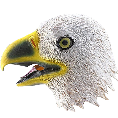 Boutique Creepy aigle Masque tete pour Halloween Costume Party Decorations Theatre Prop Nouveaute Latex