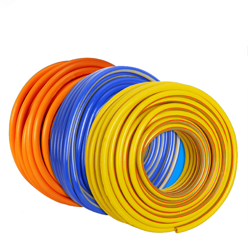 1M thickened steel wire braided hydraulic hose explosion-proof rubber hose for water heater Cooker Natural gas transportation