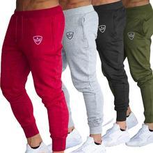 ZACOO мужские модные однотонные спортивные штаны на шнурке для спортзала, повседневные спортивные штаны для бега