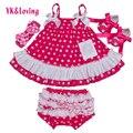 Summer Infant Girl Swing Dress Polka Dot Print Tutu Dress with Ruffle YK&Loving Sleeveless Baby Girls Clothes High Quality  Yi