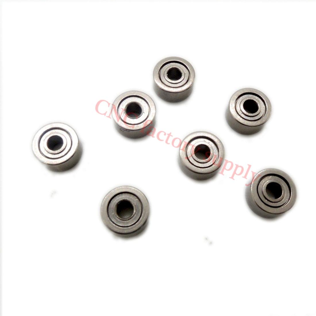 Free Shipping 10pcs 683ZZ 3x7x3mm Thin Wall Deep Groove Ball Bearing 3*7*3mm L-730ZZ