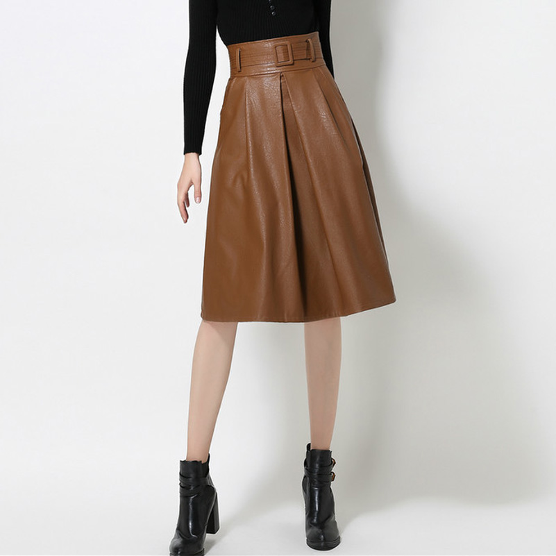 Online Buy Wholesale faux leather skirt from China faux leather ...