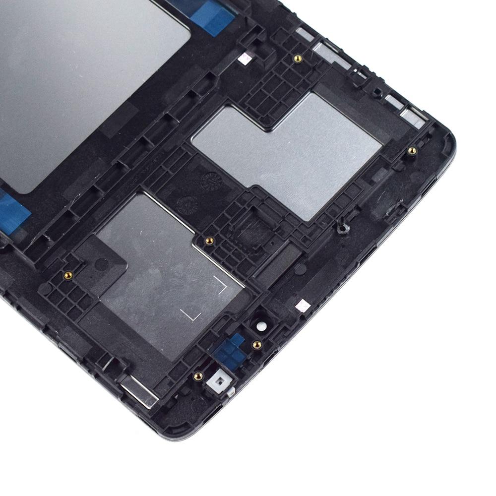 Para LG G Pad 8,0 V480 V490 pantalla LCD matriz pantalla táctil digitalizador Panel Sensor de vidrio Tablet montaje reemplazo con marco - 4