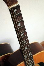 Fretboard Markers Inlay Sticker Decals for Guitar & Bass – Dove Fret Markers