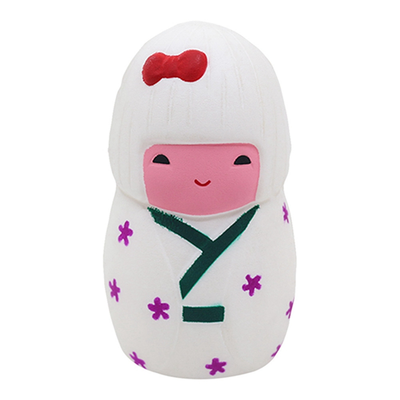 Squeeze Emulation Japanese Girl Squishy Slow Rising Scented Relieve Stress Toy Gifts Gadget Toys For Children Antistress gadget