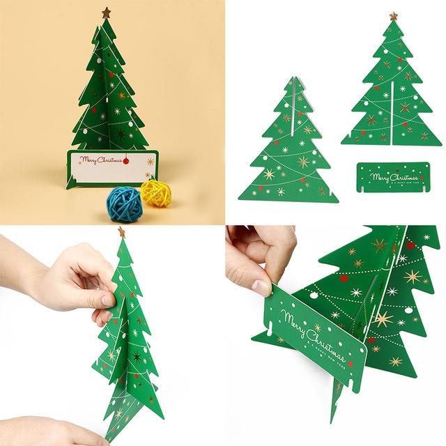 1 pcs pop up 3d christmas cards birthday thanks greeting anniversary card multi style handmade