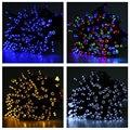 Led String Light 22M 200 LEDs Solar Powered String Light Outdoor Fairy Lamp Waterproof Outdoor Decoration Light Christmas Lights