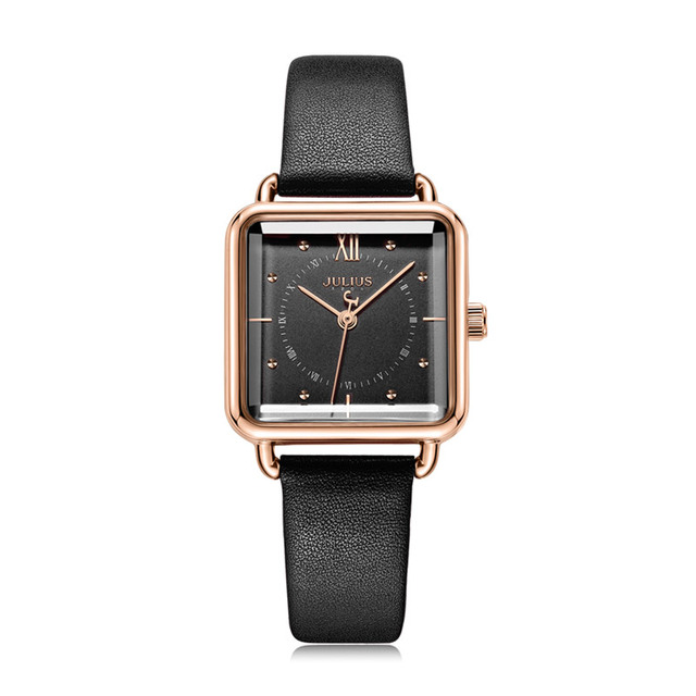 Square Shaped Retro Style Watch