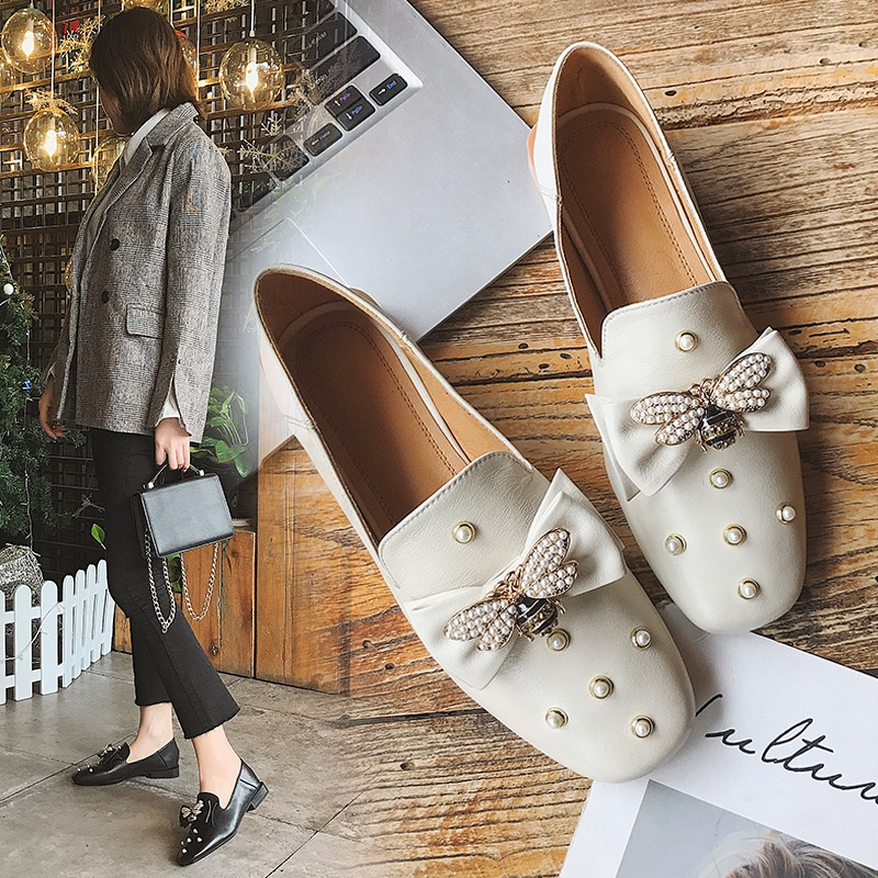 High Quality Sexy Women Pumps Pointed Toe Shoes Bowtie Thin High Heels Women's Wedding Shoes Pumps Party Shoes Genuine Leather hot sale pointed toe buckle charm fashion wedding shoes genuine leather sexy red pumps women pumps high quality high heels shoes