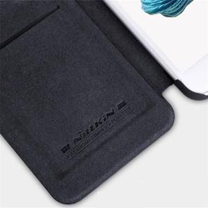 Image 5 - For iphone 7 8 Flip Case iphone 7+ 8+ PLUS Cover Nillkin Qin Vintage Leather Card Pocket Flip Cover For iphone 8 Phone Bags