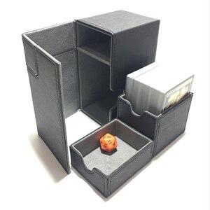 Image 3 - متوسطة الحجم علبة كرتون سطح السفينة صندوق سطح السفينة للحصول على أرواق لعب المجلس السحري: اللون الأسود