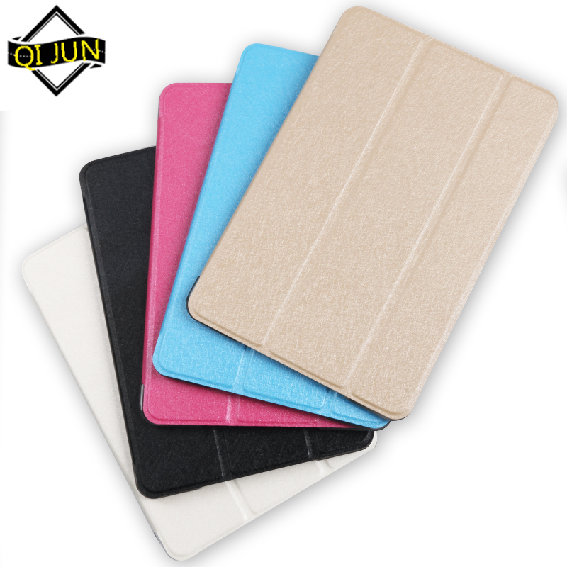 QIJUN Case For Xiaomi Mi Pad 4 MiPad4 Mipad 4 8.0 Inch Cover Flip Tablet Cover Leather Smart Magnetic Stand Shell Cover