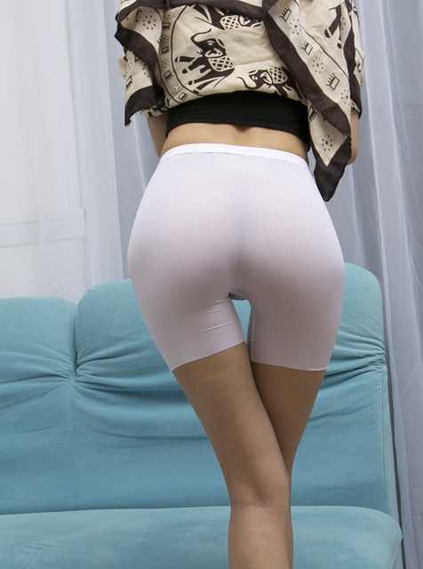 Sexy See Through Pants Shorts Erotic Lingerie Cheeky -2042