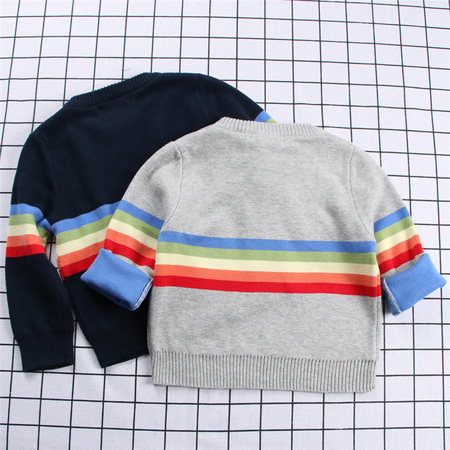 93b77eb38f93 2018 Boys Girls 1 8 Years Toddler Sweater Autumn and Winter 100 ...