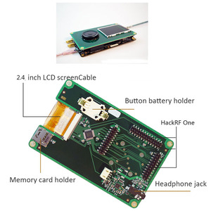 Image 5 - HackRF One 1 MHz 6 GHz SDR 수신기 및 전송 AM FM SSB ADS B SSTV Ham radio 용 PortaPack